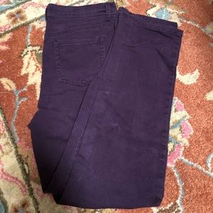 Purple Gloria Vanderbilt jeans